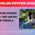 Home Solar Power System - DIY Solar Power Panels