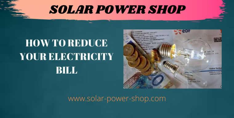 How to reduce your electricity bill