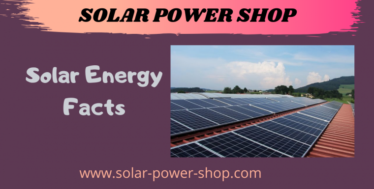 Solar Energy Facts